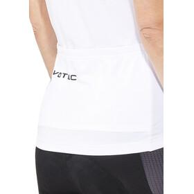 VOTEC EVO Race Fietsshirt korte mouwen Dames grijs/wit